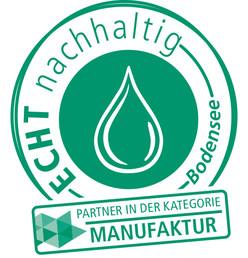 ECHT nachhaltig Manufaktur Logo