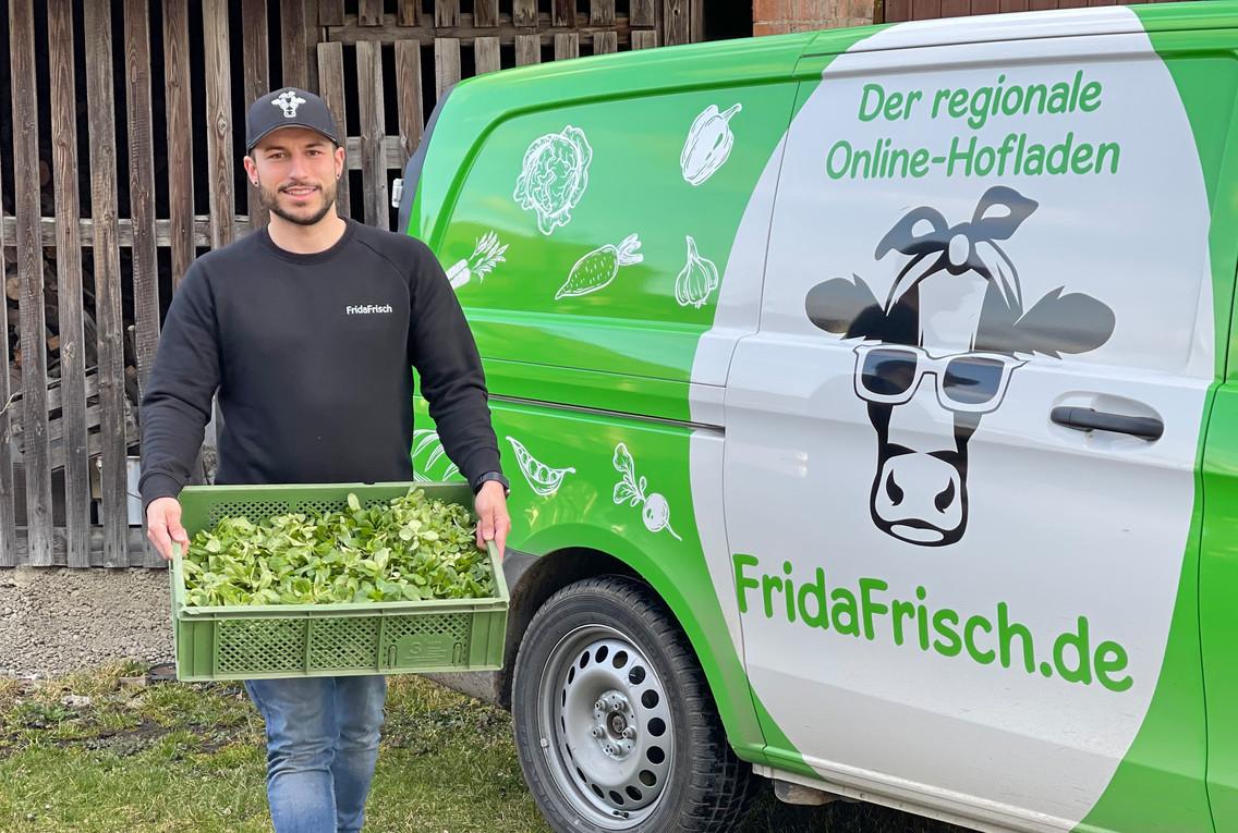 Lieferbus Frischely