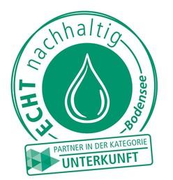 Logo ECHT nachhaltig Unterkunft